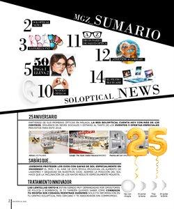 Ofertas de Gafas de sol  en el folleto de Soloptical en Valencia