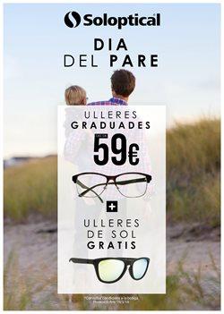 Ofertas de Salud y ópticas  en el folleto de Soloptical en Barcelona