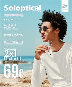 Ofertas de Temporada  en el folleto de Soloptical en Madrid