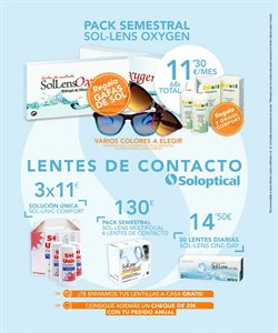 Ofertas de Óptica  en el folleto de Soloptical en Madrid