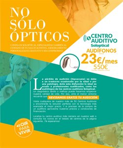 Ofertas de Audífonos  en el folleto de Soloptical en Madrid