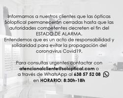 Cupón Soloptical en Logroño ( Caduca hoy )