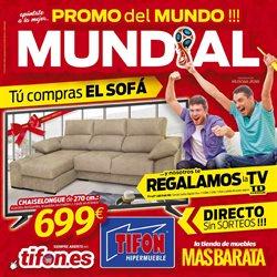 Ofertas de Tifón Hipermueble  en el folleto de Madrid