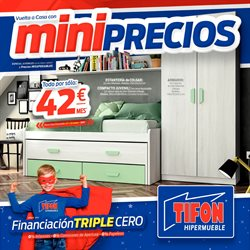 Ofertas de Tifón Hipermueble  en el folleto de Bilbao