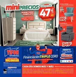 Ofertas de Espejo  en el folleto de Tifón Hipermueble en Telde