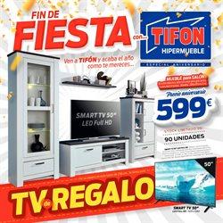 Ofertas de Tifón Hipermueble  en el folleto de Motril