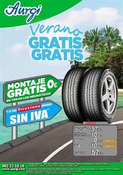 Ofertas de Coche, moto y recambios  en el folleto de Aurgi en Madrid