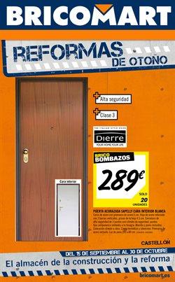 Ofertas de Jardín y bricolaje  en el folleto de Bricomart en Castellón de la Plana