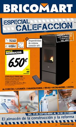 Bricomart alcal de henares cat logo y ofertas octubre 2017 for Lidl alcala de henares catalogo
