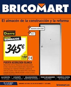Ofertas de Bricomart  en el folleto de Madrid
