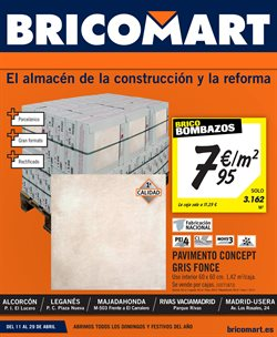 Ofertas de Bricomart  en el folleto de Madrid