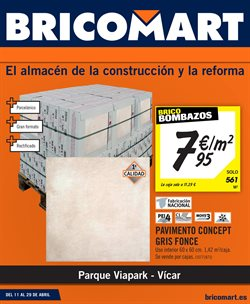 Ofertas de Jardín y bricolaje  en el folleto de Bricomart en Almería