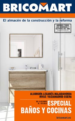 Ofertas de Jardín y bricolaje  en el folleto de Bricomart en Arganda del Rey