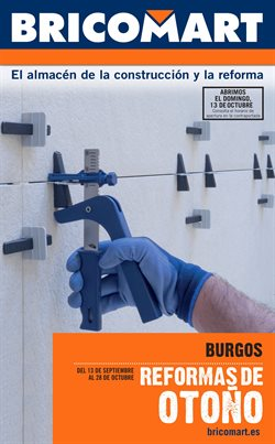 Ofertas de Jardín y bricolaje  en el folleto de Bricomart en Burgos