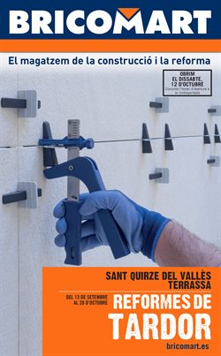 Ofertas de Jardín y bricolaje  en el folleto de Bricomart en Manresa
