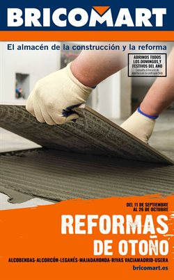 Catálogo Bricomart en Madrid ( 28 días más )