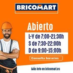 Catálogo Bricomart ( 18 días más)