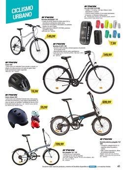 Ofertas de Bicicleta plegable  en el folleto de Decathlon en Madrid