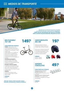 Ofertas de Soporte para bicicleta  en el folleto de Decathlon en Murcia