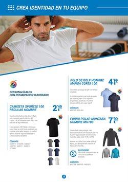 Ofertas de Camiseta de deporte  en el folleto de Decathlon en Vecindario