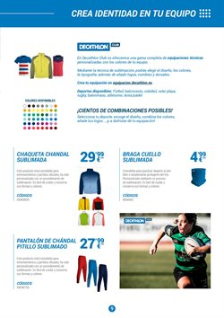 Ofertas de Pantalones de deporte  en el folleto de Decathlon en Bilbao