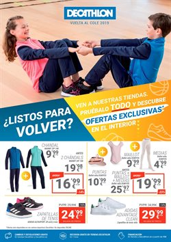 Ofertas de Hiper-Supermercados  en el folleto de Decathlon en Los Barrios