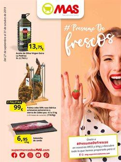 Ofertas de Supermercados MAS  en el folleto de Utrera