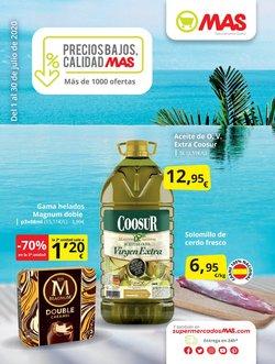 Catálogo Supermercados MAS ( 21 días más )
