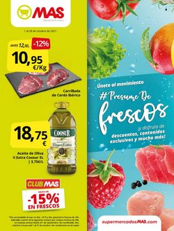 Catálogo Supermercados MAS ( 13 días más)