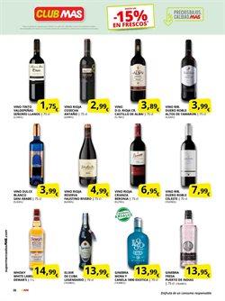 Ofertas de Vinos de España en Supermercados MAS