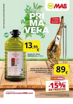 Catálogo Supermercados MAS ( 16 días más)