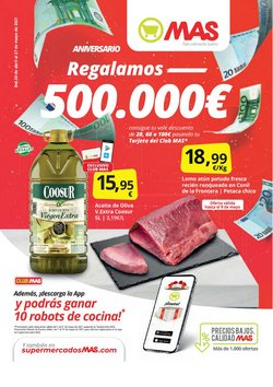 Catálogo Supermercados MAS ( 11 días más)