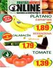 Catálogo Frutas Nieves ( Caducado )