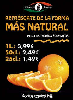 Catálogo Frutas Nieves ( Caducado)