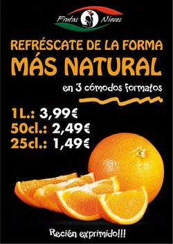 Catálogo Frutas Nieves ( Publicado ayer)