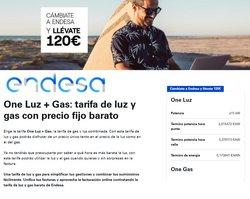 Ofertas de ENDESA en el catálogo de ENDESA ( Caducado)
