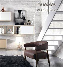 Ofertas de Muebles Vázquez  en el folleto de Santa Olalla