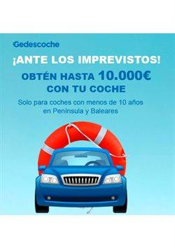 Ofertas de Bancos y Seguros en el catálogo de Gedesco en Fuengirola ( Caducado )
