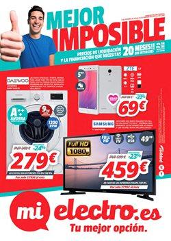 Ofertas de Televisores  en el folleto de Mi electro en Ávila