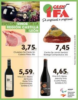 Ofertas de Hiper-Supermercados en el catálogo de Cash Ifa en Ponferrada ( 5 días más )