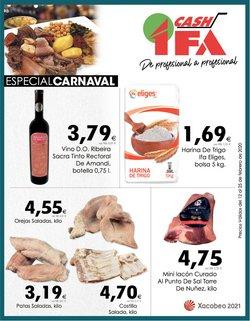 Ofertas de Hiper-Supermercados en el catálogo de Cash Ifa en Ourense ( 2 días más )