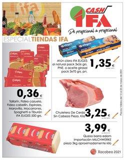 Catálogo Cash Ifa ( Caducado)