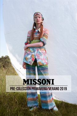 Ofertas de Missoni  en el folleto de Madrid