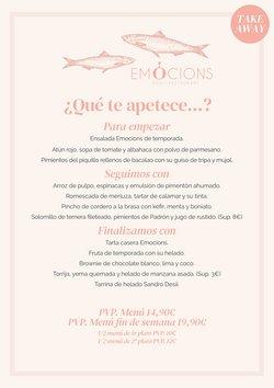 Ofertas de Sorli Emocions en el catálogo de Sorli Emocions ( 5 días más)