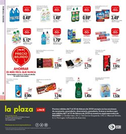 Ofertas de Pastillas para lavavajillas  en el folleto de La Plaza de DIA en Madrid