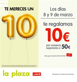 Ofertas de La Plaza de DIA  en el folleto de Oviedo