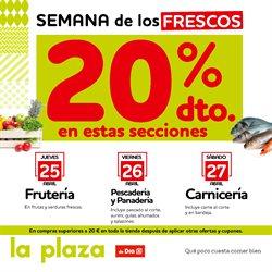 Ofertas de La Plaza de DIA  en el folleto de Cartagena