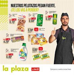 Ofertas de Cruzcampo  en el folleto de La Plaza de DIA en Cartagena