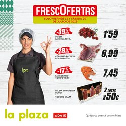 Ofertas de La Plaza de DIA  en el folleto de Fuenlabrada