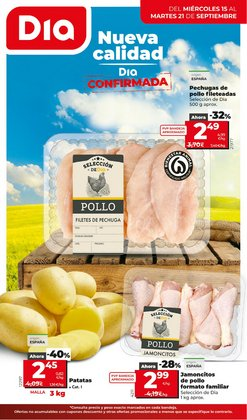 Ofertas de Hiper-Supermercados en el catálogo de La Plaza de DIA ( 4 días más)